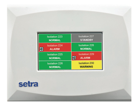 Setra Model MRMS multi-room monitoring station