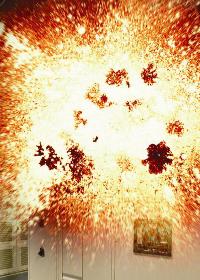 Arc flash explosion