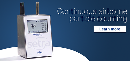Continuous airborn particle counting - email header - AQM7000