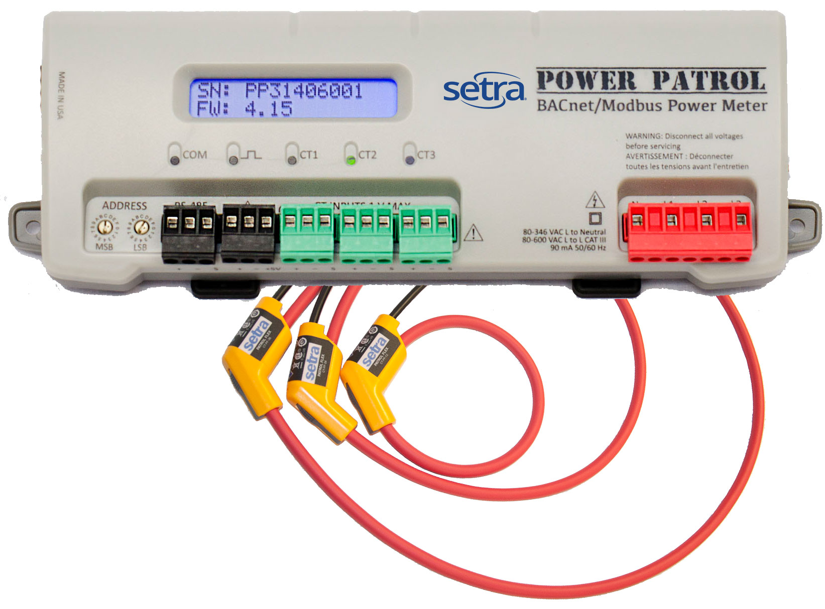 Setra Power Patrol - Networked Power Meter