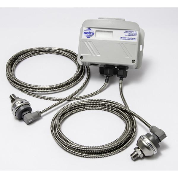 Differential Multi Configurable Pressure Transducer: Model 231RS