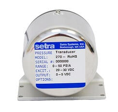SETRACERAM™ for Barometric, Gauge or Absolute Pressure: Model 270