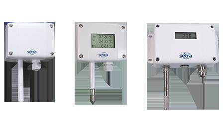 Setra's line of humidity sensors