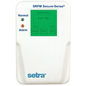Setra's Model SRPM Room Pressure Monitor