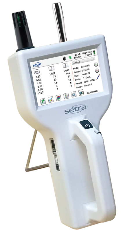 Setra SPC8000 Series Handheld Particle Counter