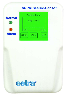 Setra SRPM Negative Room Pressure Monitor