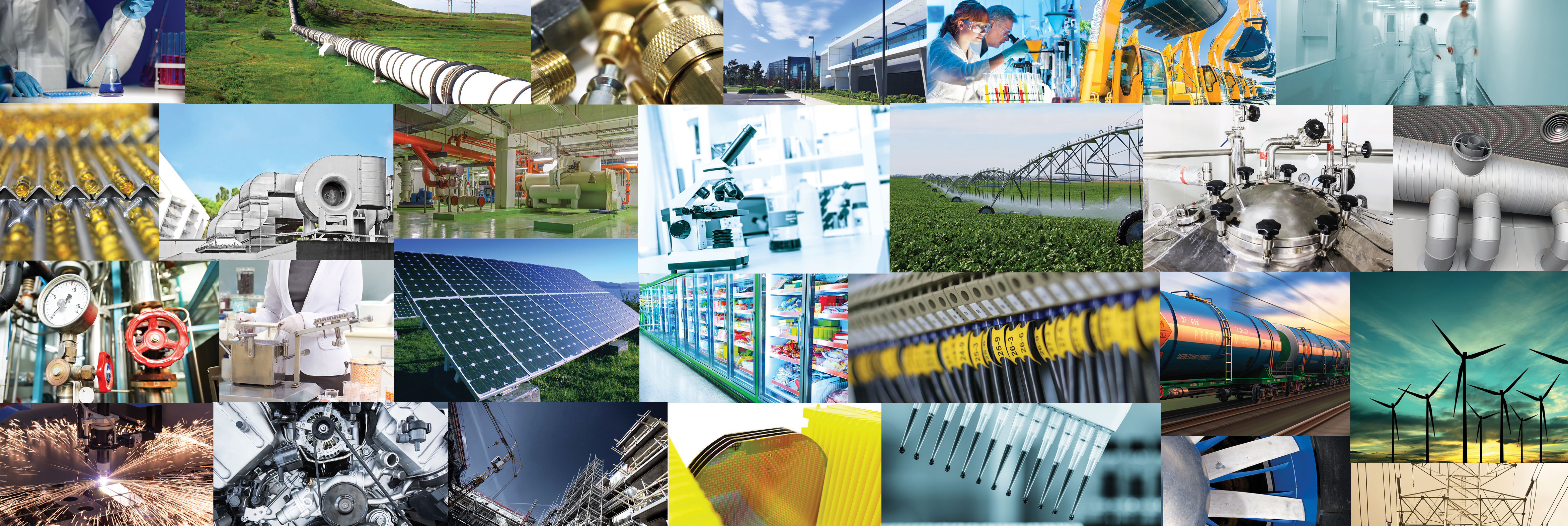 building automation general industrial semiconductor manufacturing fiber optics scales