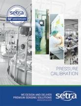 Setra's pressure calibration brochure