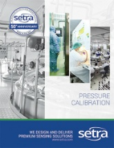 Setra's pressure calibration brochure