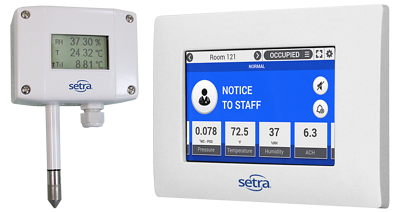 Setra Temperature / Humidity Sensor Probs for Data Centers
