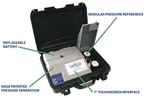 MicroCal Pressure Calibrator Info