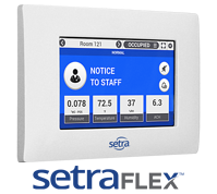 Setra FLEX Room Pressure Monitor and Controller