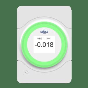 Setra Lite Room Pressure Indicator
