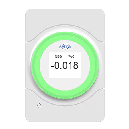 Setra Lite Visual Room Pressure Indicator