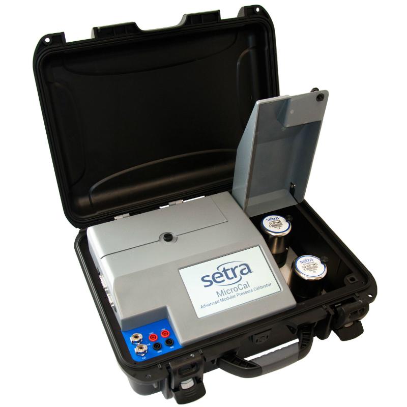 Setra MicroCal Pressure Transducer Calibrator