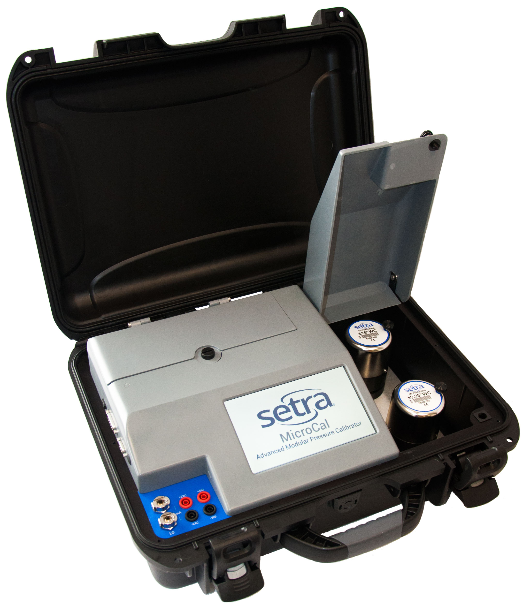 Setra's automated low pressure calibrator: The MicroCal