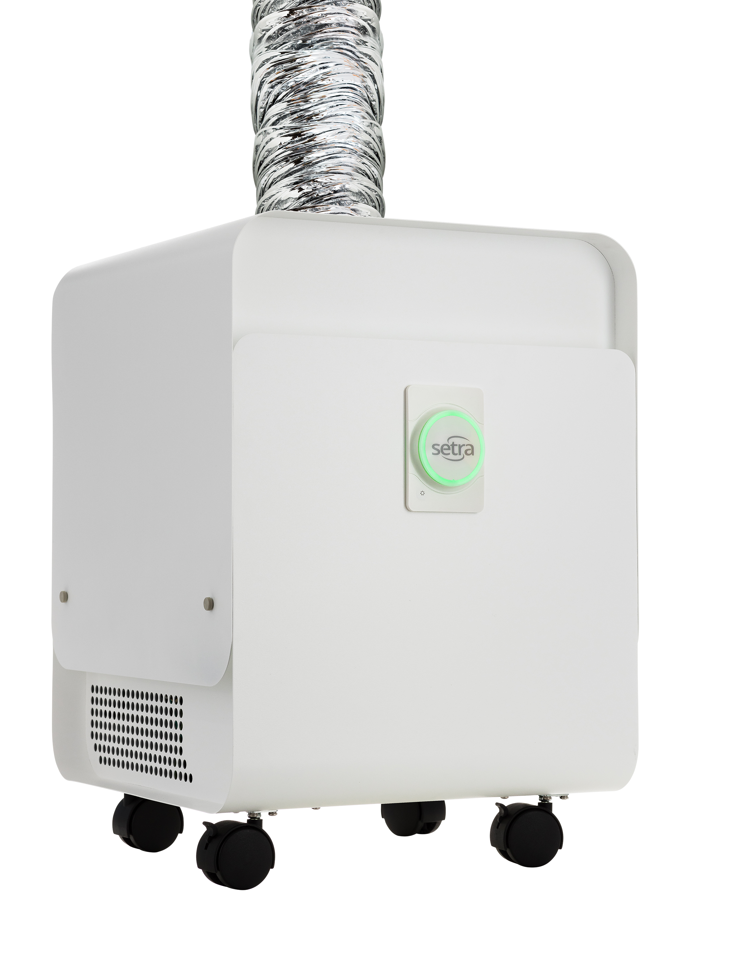 What's the difference between an air scrubber and a negative air machine?