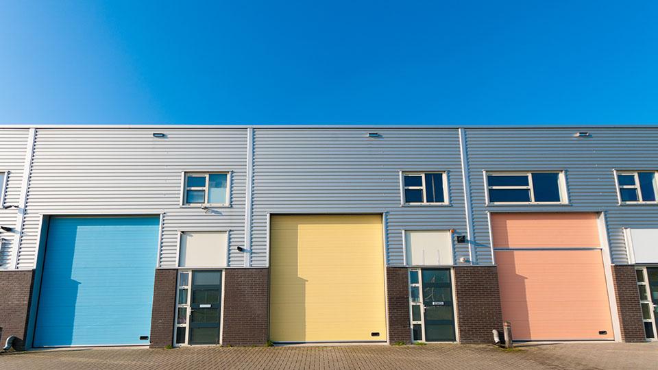 Energy Management Industrial Building Garage Door