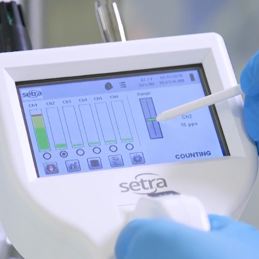 Monitoring particle counts with a proper particle counter can keep you compliant with USP 797