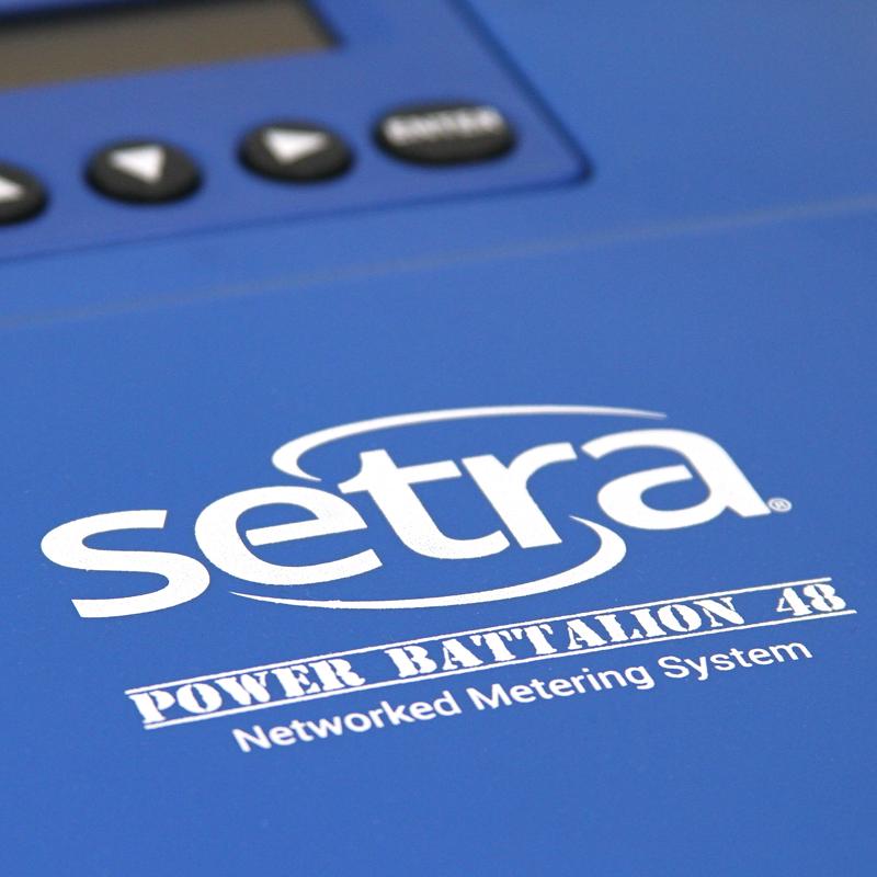 Setra Power Battalion 48 Logo Closeup