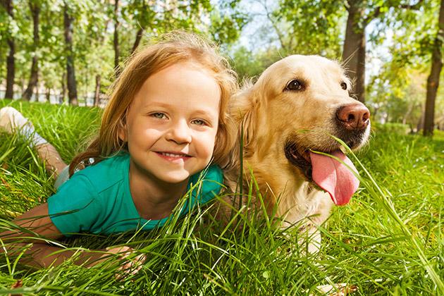 girl-with-dog