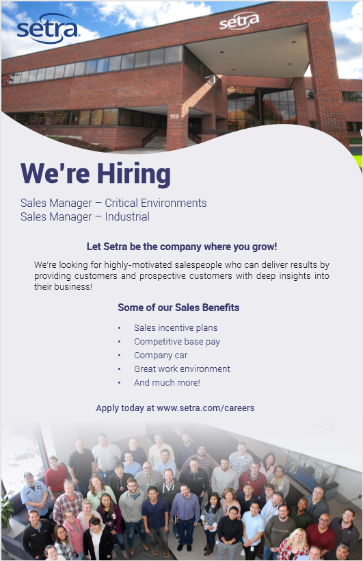 Setra is hiring