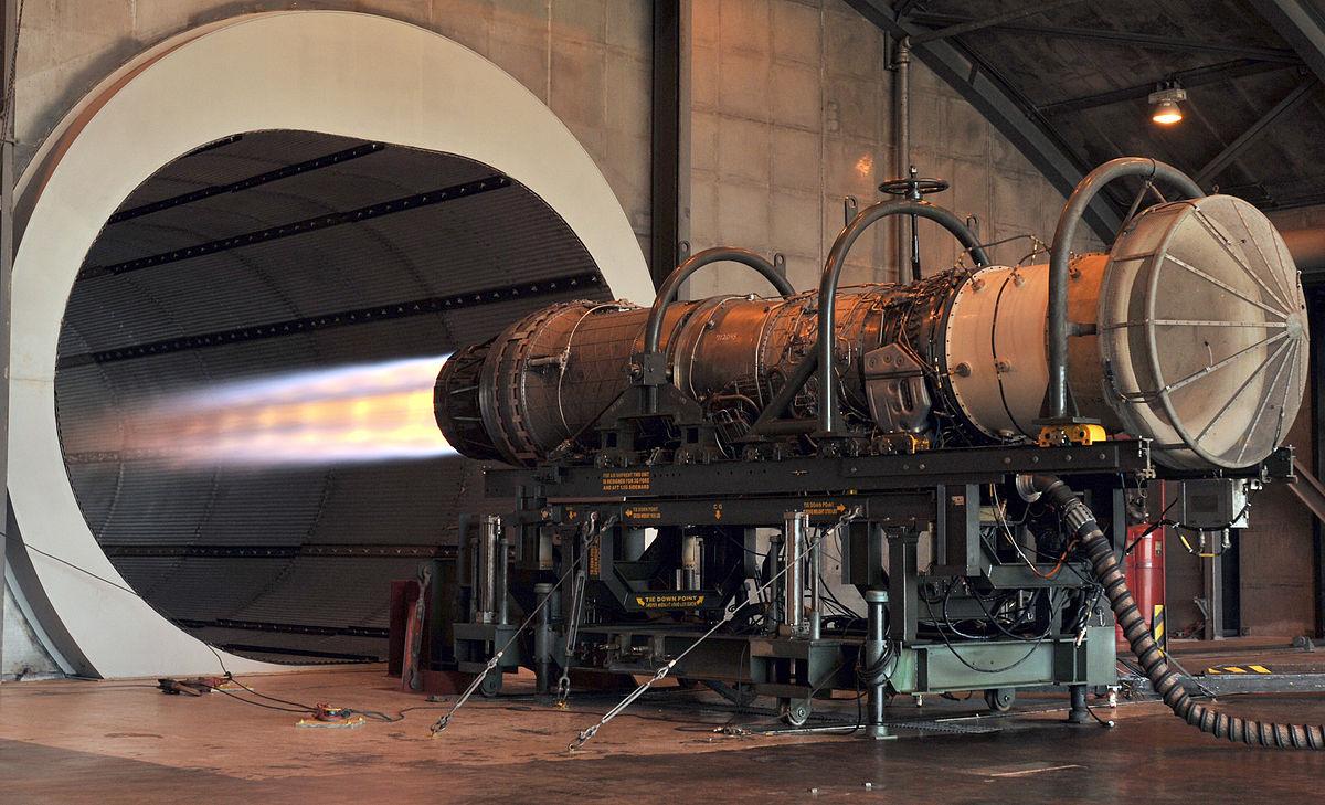 Jet Turbine Test Stand