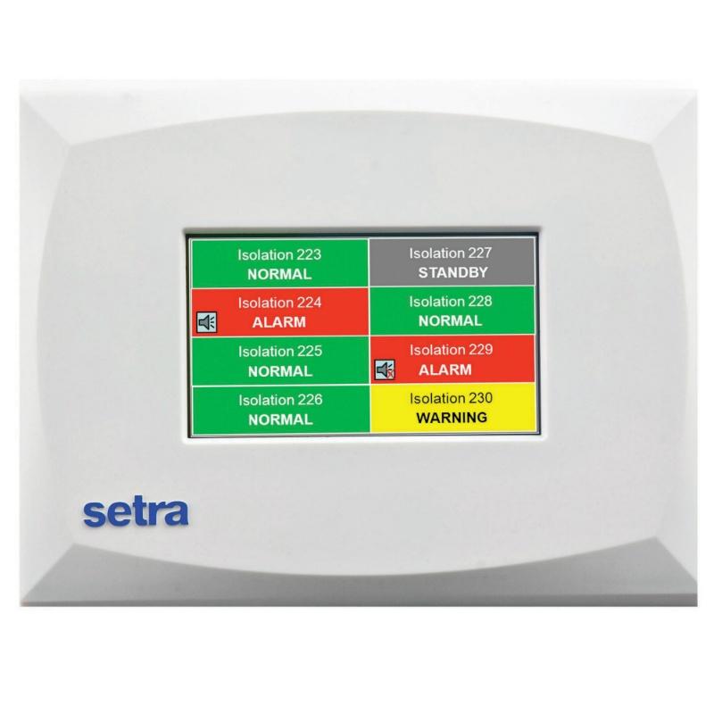 Setra MRMS Multi-room Environmental Monitor for Pressure