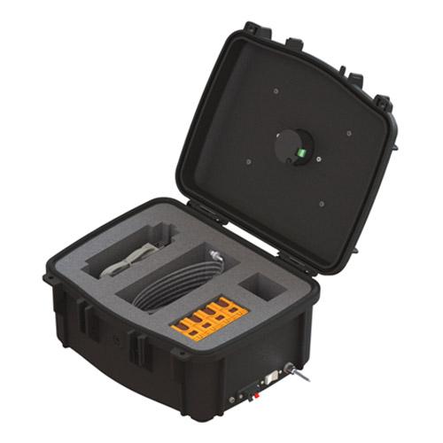 Inside of Portable Pressure Box