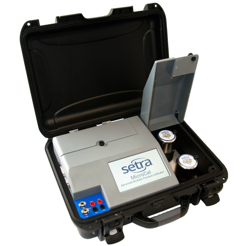 Setra MicroCal Advanced Modular Pressure Transducer Calibrator